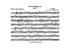 Graf Zeppelin (The Conqueror): tenor saxofone parte by Carl Teike