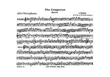 Graf Zeppelin (The Conqueror): parte alto saxofone by Carl Teike