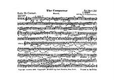 Graf Zeppelin (The Conqueror): Cornet solo part by Carl Teike
