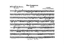 Graf Zeppelin (The Conqueror): Alto horn III, IV part by Carl Teike