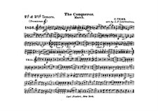Graf Zeppelin (The Conqueror): Tenor trombones I, II part by Carl Teike
