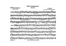 Graf Zeppelin (The Conqueror): Trombone III in B part by Carl Teike