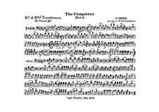 Graf Zeppelin (The Conqueror): Trombones I, II in B part by Carl Teike