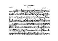 Graf Zeppelin (The Conqueror): Drum part by Carl Teike