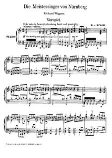 Fragments: introdução para ato I para piano by Richard Wagner