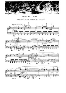 Five Transcriptions for Piano: Five Transcriptions for Piano by Richard Wagner
