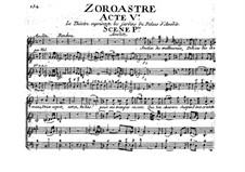 Zoroastre, RCT 62: Ato V by Jean-Philippe Rameau