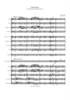 Concertino for Trombone and Small Orchestra: Concertino for Trombone and Small Orchestra by Jordan Grigg
