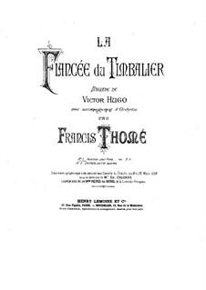 La fiancée du timbalier: Para Piano by Francis Thomé
