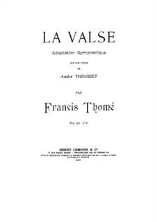 La valse: La valse by Francis Thomé