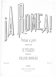 A Romea: A Romea by Nicolás Toledo