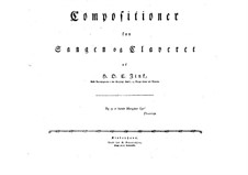 Selim and Mirza: Book I. Arrangement for soloits, choir and piano by Hardenack Otto Conrad Zinck