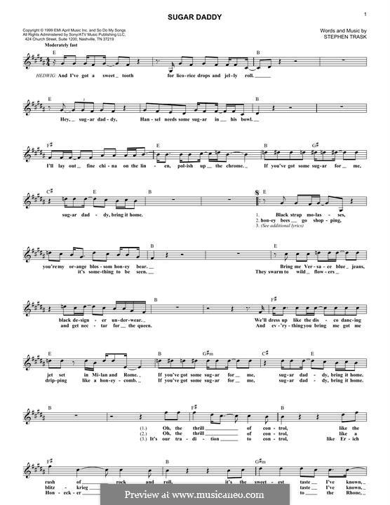 Sugar Daddy: melodia by Stephen Trask