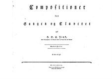 Selim and Mirza: Book II. Arrangement for soloits, choir and piano by Hardenack Otto Conrad Zinck