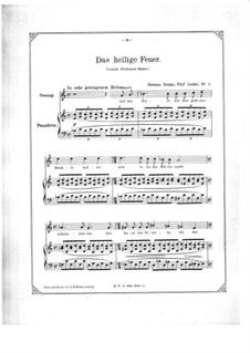 Five Songs: cinco musicas by Hermann Zumpe