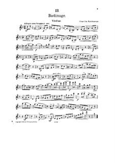 No.13 Badinage: Parte de solo by César Cui