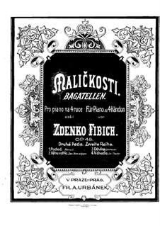 Bagatelles (Series II), Op.48: Bagatelles (Series II) by Zdeněk Fibich