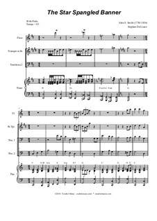 The Star Spangled Banner (National Anthem of The United States): Trombone duet by John Stafford Smith