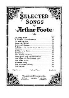 Go, Lovely Rose: Go, Lovely Rose by Arthur Foote