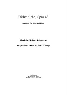 Complete set: para oboe e piano by Robert Schumann