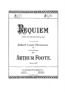 Requiem (Under the Wide and Starry Sky): Requiem (Under the Wide and Starry Sky) by Arthur Foote