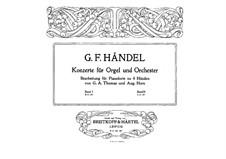 Complete set, HWV 306-311: versão para piano de quatro mãos by Georg Friedrich Händel