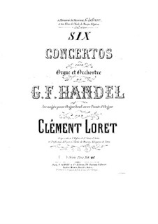 Complete set, HWV 289-294: para orgão solo by Georg Friedrich Händel