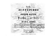 Symphony No.95 in C Minor, Hob.I/95: versão para piano de quatro mãos by Joseph Haydn