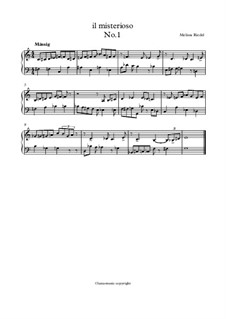 Il misterioso, Op.1: Il misterioso by Melissa Riedel