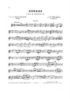Serenade in B Flat Major, Op.10: para trio de pianos by Charles-Marie Widor