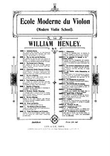 Modern Violin School, Op.51: livro VI by William Ernest Henley