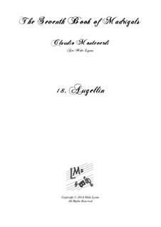Book 7 (Concerto), SV 117–145: No.18 Augellin a7 by Claudio Monteverdi