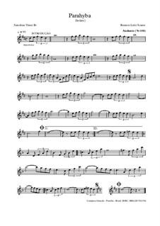 Parahyba: para saxofone by Roniere Leite Soares