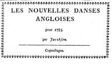 Les nouvelles danses angloises: Les nouvelles danses angloises by Hans Hinrich Jacobsen