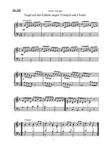 Engel auf den Feldern singen (Vorspiel und Choral): Engel auf den Feldern singen (Vorspiel und Choral) by Roman Jungegger