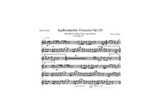 Jagdhundpolka Fancaise, Op.128: Für Quintetthorn by Dieter Angerer