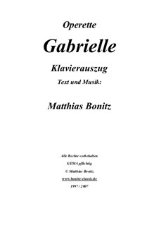 Gabrielle: Gabrielle by Matthias Bonitz