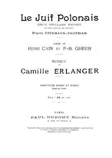 Polish Jew: Polish Jew by Camille Erlanger