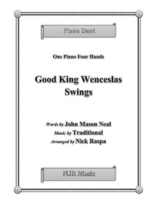 Good King Wenceslas: For piano four hands, early intermediate by folklore