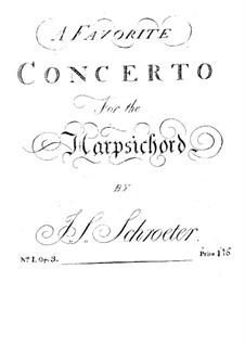 Concerto for Harpsichord in F Major: Concerto for Harpsichord in F Major by Johann Samuel Schröter