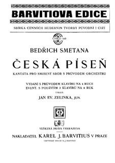 Czech Song: Czech Song by Bedřich Smetana