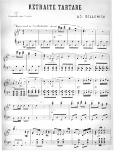 Retraite Tartare: Retraite Tartare by Adolphe Sellenick