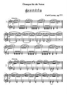 Twenty-Four Exercises, Op.777: set completo by Carl Czerny