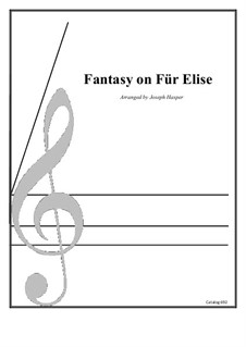 For Elise, WoO 59: For clarinet choir by Ludwig van Beethoven