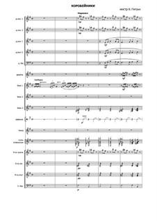 Korobeiniki: para orquestra russa folk by folklore
