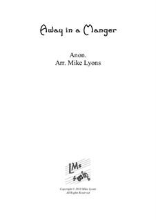 Away in a Manger: Para quinteto de metais by folklore