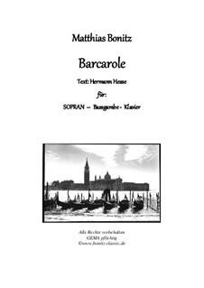 Barcarole: Barcarole by Matthias Bonitz