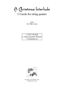 Christmas interlude: For string quintet / orchestra by folklore