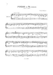 Two Fugues: Two Fugues by François Roberday, Bohuslav  Matej Cernohorský