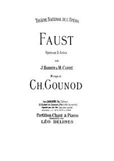 Complete opera: arranjos para vozes e piano by Charles Gounod